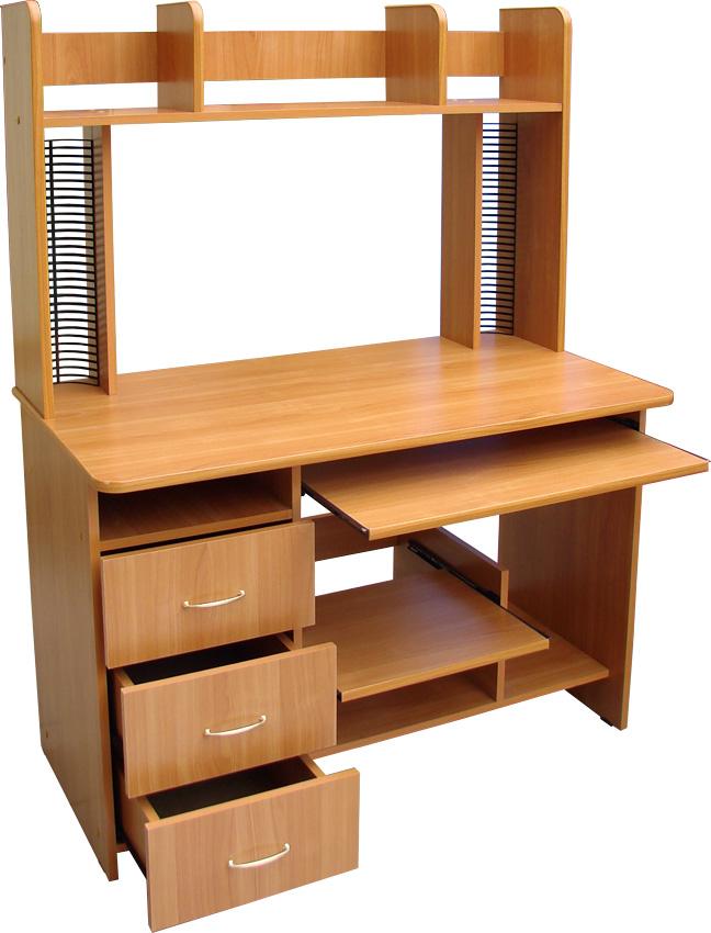 Компьютерный стол, который сделан по индивидуальному заказу,.